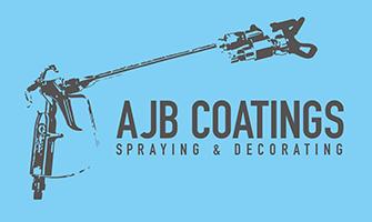 AJB Coatings Logo - Specialist Spraying Service
